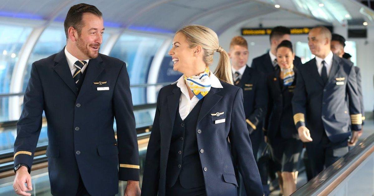 خدمه هواپیما(مهمانداران)